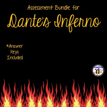 Assessment Bundle for Dante's Inferno