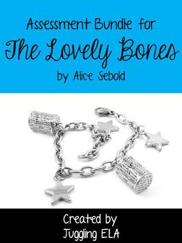 Assessment Bundle for the novel The Lovely Bones by Alice Sebold