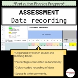 Assessment - Data Recording (knowledge of sounds)