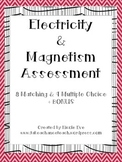 Assessment: Electricity & Magnetism Quiz