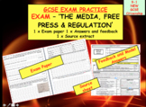 Assessment Exam on The Media, Free press and regulation GCSE CITIZENSHIP 9-1