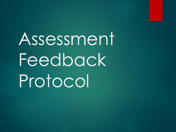 Assessment Feedback Protocol