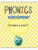 Assessment Grade One Grade Two Phonics Long Short Vowels Spelling
