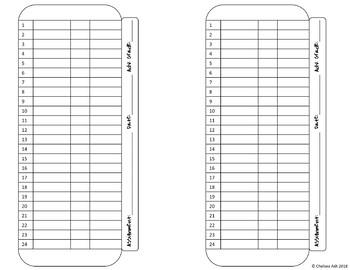 Assessment Grade Sheet Tracker