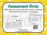 FREE Assessment Grids for Any Content & Level {A Hughes Design}