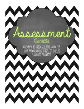 Assessment Grids for Quebec Teachers