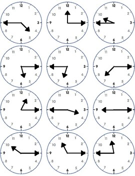 Assessment - Hour & Half Hour