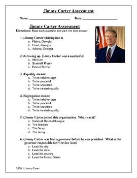 Assessment-Jimmy Carter