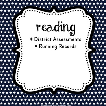 Assessment Tracking Binder: Ready to Use Templates to Drive Your Instruction