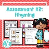 Assessment Kit: Rhyming