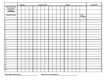 Assessment Monitoring Checklist