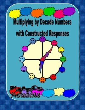Assessment - Multiplying by Decade Numbers