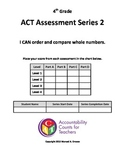 Assessment - Ordering/Comparing Numbers