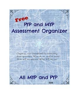 Assessment Organizer