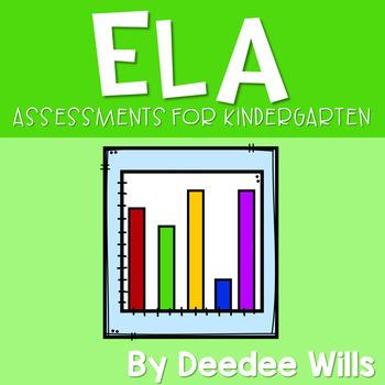 Assessment Pack for Kindergarten- Communication Arts