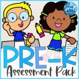Pre-K Assessment - PreK Assessment Pack for Back to School