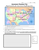 Assessment: Planning a Trip