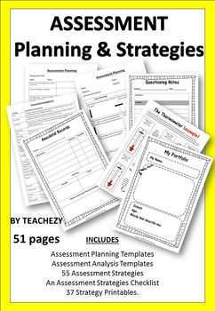 Assessment Planning and Templates