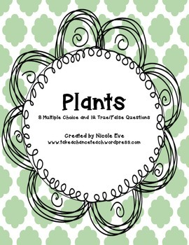 Assessment: Plants Quiz