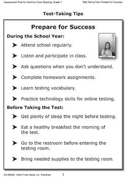 Assessment Prep for Common Core Reading Grade 7 SALE 20% OFF! 404224