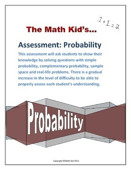 Assessment: Probability