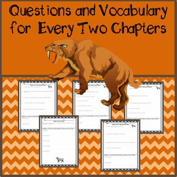 Assessment, Questions, & Voacabulary for Sunset of the Sabertooth