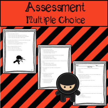 Assessment, Questions, & Voacabulary for Night of the Ninjas
