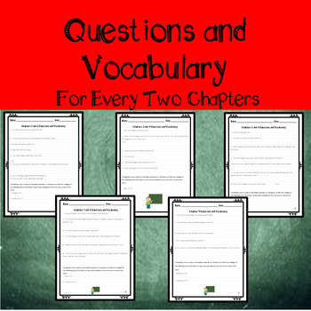 Assessment, Questions, & Vocabulary for The Chalk Box Kid