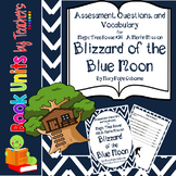 Blizzard of the Blue Moon (MTH #36)  Assessment, Questions, and Vocabulary