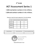 Assessment -Reading/Writing Numbers