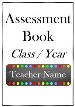 Assessment Record Book (Editable)