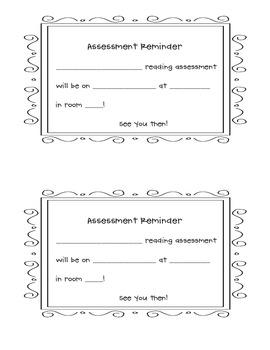 Assessment Reminder