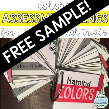 Assessment Rings: Colors {FREE SAMPLE}