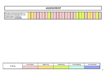 Assessment Rubric (Editable)