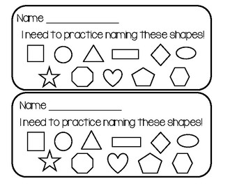 Assessment Shape Game