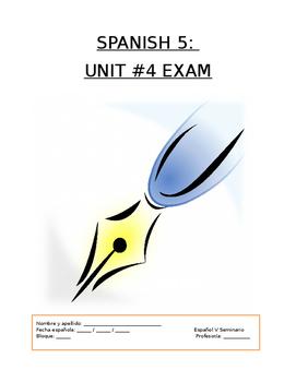 Assessment - Spanish 5 Exam 4: Si yo fuera autor...