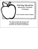 Assessment Feedback Strategies Flip Book for New Teachers