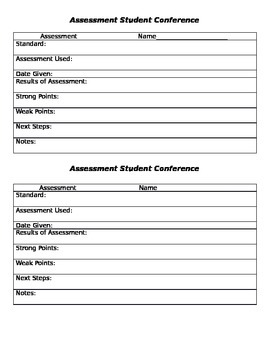 Assessment Student Conference