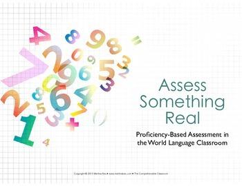 Assessment: Summative assessment ideas for World Languages
