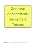 Assessment Test for English Verbs for ESL or ESOL Grammar