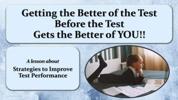 Assessment Test-taking Strategies Intermediate PowerPoint Guidance Lesson