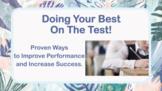 Assessment Test-taking Study Skills Strategies No Prep SEL Lesson w 6 Video PBIS