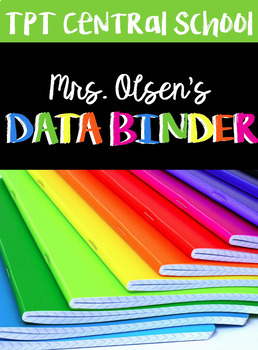 Teacher Data Binder BUNDLE