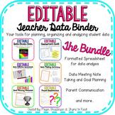 Teacher Data Binder BUNDLE