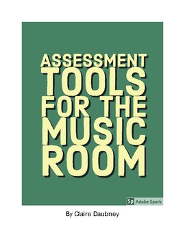 Assessment Tools for the Music Room