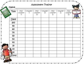 Assessment Tracker