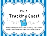 Assessment Tracking Sheet (PBLA)