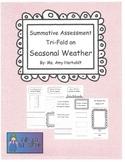 Assessment Tri-Fold on Seasonal Weather