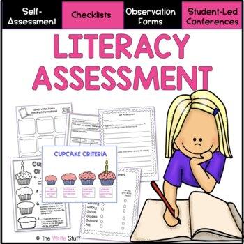 ASSESSMENT: Ultimate Literacy Assessment Binder