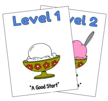 Assessment Visuals - Sundae Levels